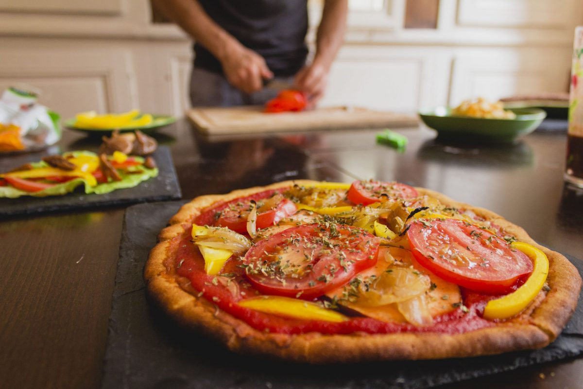 Shooting photo culinaire pizza