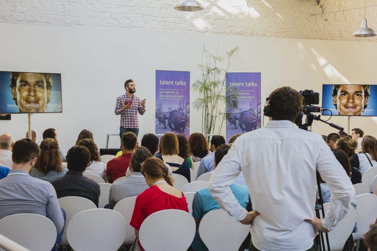 Reportage photo événementiel speaker conférence
